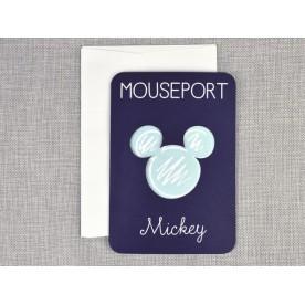 Invitatie de botez Pasaport Mickey -15705 -  NBC Events